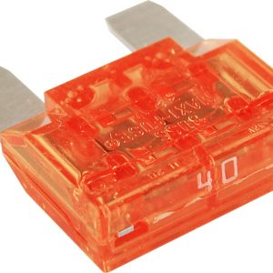 fuses holders and boxes ribblesdale auto electrics 10 x orange maxi blade type fuses 40 amp